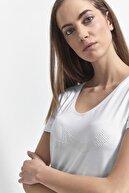 Ltb Kadın BEYAZ T-SHIRT  0122180257603930000
