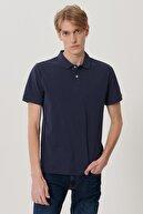 Lee Erkek Lacivert Regular Fit Polo Yaka T-Shirt