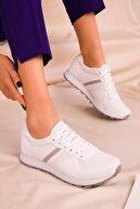 Soho Exclusive Beyaz Kadın Sneaker 15277