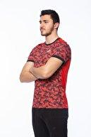 Lotto Erkek Kırmızı Tshirt Speedrun Tee Prt Pl-r9734