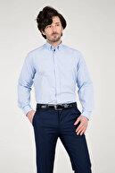 Abbate Erkek Açık Mavi Uzun Kollu Gömlek - 1Gm91Uk1262R 555