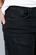 Sateen Men Erkek Siyah Slimfit Denim Pantolon