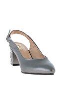 Bambi Platin Kadın Klasik Topuklu Ayakkabı K01688071109