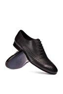 Deery Hakiki Deri Siyah Klasik Erkek Ayakkabı 01785MSYHM02