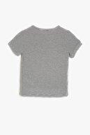 Koton Gri Erkek Bebek Aplike Detayli T-Shirt