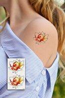 Takıştır Geçici Çiçek Mini Dövme