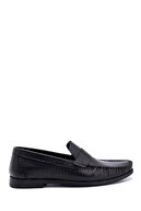 Derimod Erkek Deri Baskılı Loafer Ayakkabı