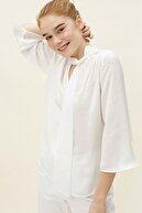 Koton Kadın Kırık Beyaz Bluz