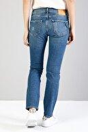 Colin's KADIN 895 Sofıa Düşük Bel Düz Paça Cigarette Fit Mavi Kadın Jean Pantolon CL1036015