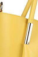 Beverly Hills Polo Club Kadın El ve Omuz Çantası Sarı