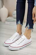 Riccon Unisex Beyaz Sneaker 0012101