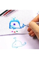 armex Isı Ve Ütü Ile Silinen Uçan Kalem Ve 15 Adet 3 Renk Karışık Kalem Içi 0.5 Mm Iğne Uçlu