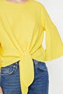 Koton Kadın Sari Bluz 8YAK68406OW