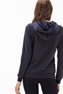 Lacoste Kadın Lacivert Kapüşonlu Sweatshirt SF1904