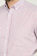 Abbate Erkek Kırmızı Uzun Kollu Gömlek - 1Gm91Uk1266R 600