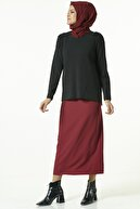 Armine Boncuk Detaylı Bluz 8k3525 Siyah