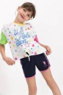 US Polo Assn U.s.polo Assn Kız Çocuk Şort Takım