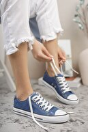 Riccon Unisex Kot Mavi Sneaker 0012101