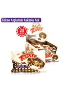 Elvan Today Donut Kek Kakaolu 50 gr. 24 Adet (1 Kutu)