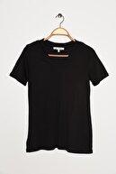 Koton Kadın Siyah T-Shirt 0YAL18361OK