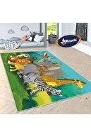 Estela Hayvanlar Alemi Desenli Çocuk Odası Halısı