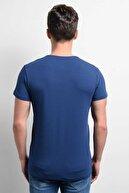 Rodi Jeans Rodi Rd19ye279973 Indigo Erkek Lycra Süprem V Yaka T-shirt
