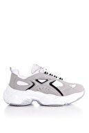 Tonny Black Kadın Beyaz Gri Spor Ayakkabı Tb288