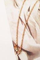 MorMajor Silver Nazar Boncuklu Altın Işçilik Harf Gümüş Kolye
