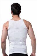Marketimgel Erkek Toparlayıcı Ve Ince Gösteren Korse Atlet Beyaz 2 Li Paket