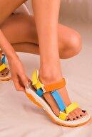 Soho Exclusive Ten-Renkli Kadın Sandalet 16196
