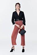 İpekyol Kadın Bakır Yüksek Bel Pilisole Pantolon IS1190003112073