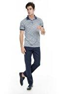 Buratti Erkek Lacivert Polo Yaka T-Shirt - 43619056