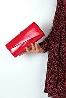 WMİLANO Kırmızı Cilt Kadın El Çantası C0507-18
