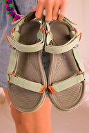 Soho Exclusive Yeşil Kadın Sandalet 16196