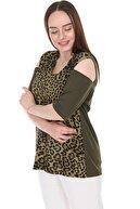 Lir Kadın Haki Bluz 2293
