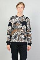 Colin's ERKEK Slim Fit Erkek Lacivert Sweatshirt CL1045730