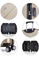 My Valice Siyah Unisex Büyük Boy Valiz MV8060