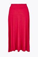 Marks & Spencer Kadın Kırmızı Midi Etek T59007469