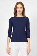 Koton Kadın Lacivert T-Shirt 0YAK13603EK