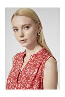 STELLA PULVIS Kadın Kırmızı Denenli  Bluz