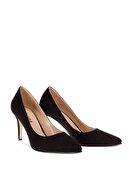Deery Siyah Kadın  Klasik Topuklu Ayakkabı 02029ZSYHM02