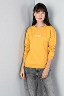 Colin's KADIN Regular Fit Kadın Sarı Sweatshirt CL1045299