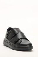 Ayakkabı Modası Siyah Kadın Spor Ayakkabı M4000-19-101003R