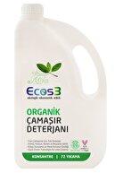 Ecos3 Organik Sıvı Çamaşır Deterjanı 2500  ml -72 Yıkama