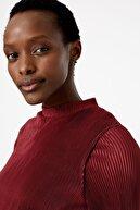 Marks & Spencer Kadın Mor Pileli Elbise T42007379
