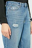 Koton Kadın Mavi Pantolon 0YAK47956DD
