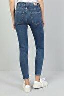 Colin's KADIN 759 Lara Orta Bel Dar Paça Super Slim Fit Mavi Kadın Jean Pantolon CL1047044