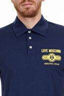 Moschino Erkek Lacivert T-Shirt S M831803M3876 Y61