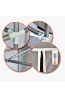 Prado Easy Çelik Profilli Çift Yandan Raflı Bez Dolap