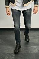 Sateen Men Erkek Siyah Denim Pantolon